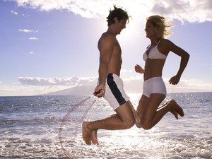 How to Jump Rope With a Partner