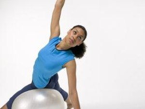 Workout Exercises With a Capsule Ball