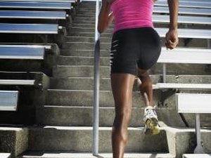 Strengthening the Thighs by Running Upstairs