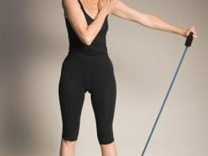 Resistance Bands Exercises for Trap Muscles