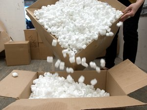 Packing Peanuts & Cats