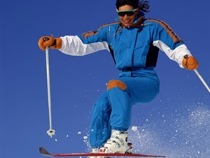 Downhill Skiing Tricks