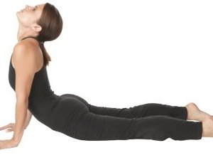 The Cobra Pose of Dhyana Yoga Exercises