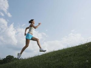 The Effects of Running Uphill on the Calf Muscles