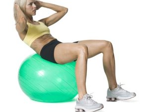Basic Exercises to Do on the Yoga Ball