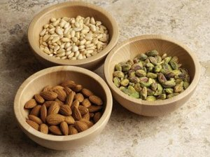 Almonds or Pistachios and Health