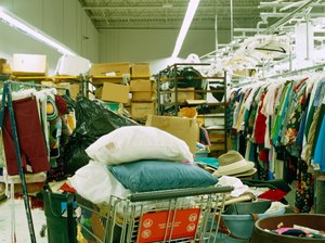 Can You Deduct Clothes Donations You Put in a Drop-Off Box?