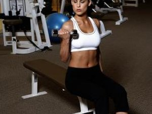 Lying Down Dumbbell Exercises for Triceps