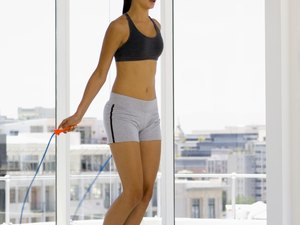 Jump Rope Interval Training With Weights