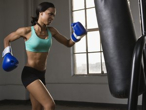 How to Work Out With a Punching Bag for Ladies