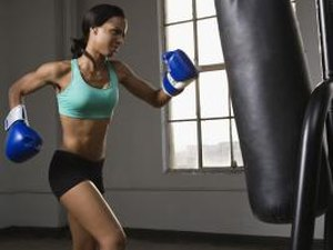 How To Work Out With A Punching Bag For Las