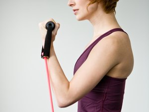Elastic Band Exercises for the Upper Body