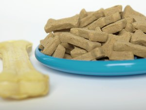 Homemade Dog Treats with Powdered Milk