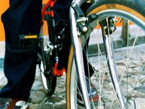 How to Release the Rear Bicycle Brake on a Shimano Deore