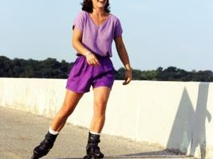 How to Slow Rollerblades When Going Downhill