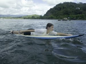 Surfboard Paddling Exercises