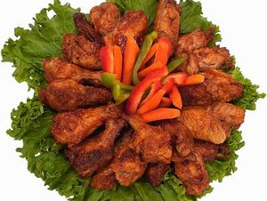 The Nutrition for Restaurant Wings