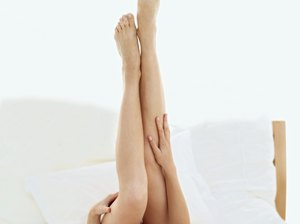 Scissor Kicks for Thigh Toning