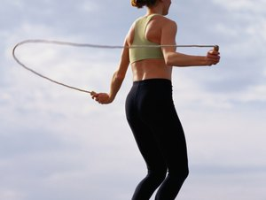 How to Jump Rope to Replace a Gym Bike