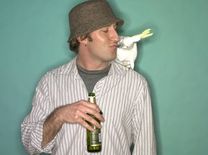 Do Parrots Drink From a Bottle or a Dish?