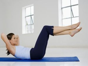 Elevated Leg Crunches for the Lower Abs