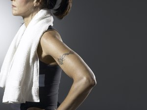 Exercise for a Woman's Upper Arm