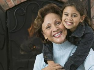 A grandparent raising grandchildren may gain legal rights through guardianship.