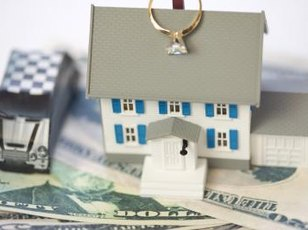 According to California law, a husband and wife each own half of all property acquired during the marriage.