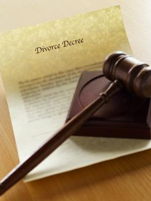 A couple's divorce decree often includes custody arrangements.