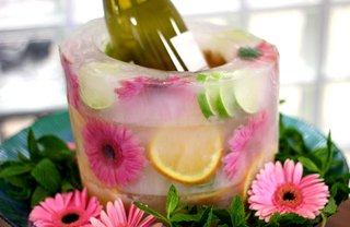 [Article Image] - DIY Fruit and Floral Ice Bucket
