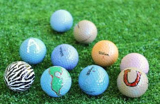 [Article Image] - 3 Creative Personalized Golf Balls