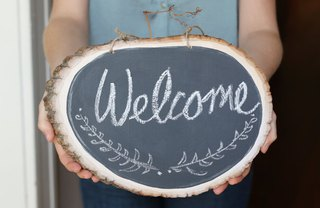[Article Image] - Create a Rustic Chalkboard Sign