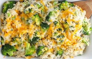 [Article Image] - Cheesy Broccoli Rice Casserole