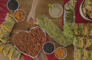 [Article Image] - Spell Out Your Love With This Oversized Taco Bar