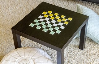 [Article Image] - Paint a Checkerboard Game Table