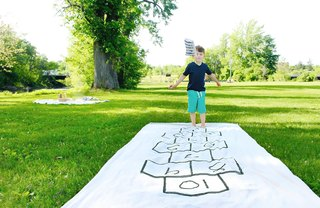 [Article Image] - How to Make a Hopscotch Board