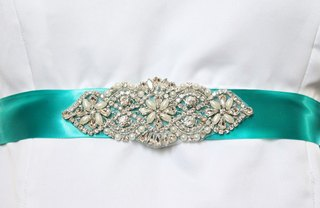 [Article Image] - Make a Sash for a Wedding Dress