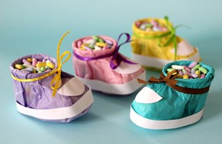 [Article Image] - DIY Baby Shower Booties
