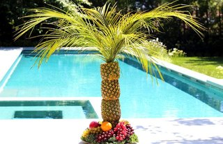 [Article Image] - DIY Palm Tree Serving Tray