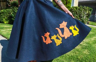 [Article Image] - How to Make a Vintage-Inspired Felt Applique Circle Skirt