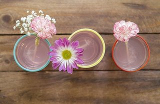[Article Image] - DIY Fresh Floral Drink Stirrers