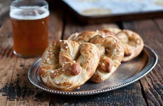 [Article Image] - Beer-Infused Garlic Butter Pretzels
