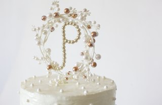 [Article Image] - Make a Monogram Cake Topper
