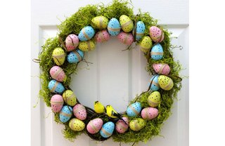 [Article Image] - Easy-to-Make Easter Wreath