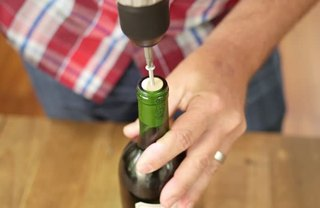 [Article Image] - Open a Wine Bottle With a Power Drill
