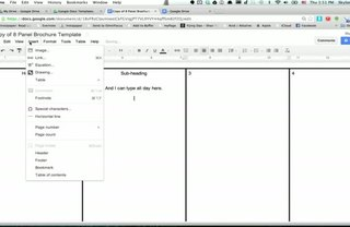 [Article Image] - How to Make a Brochure Using Google Docs