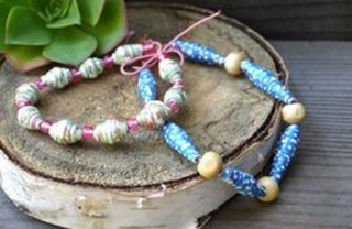 [Article Image] - How to Make Paper Beads