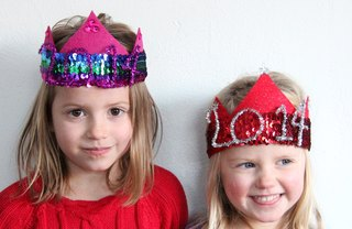 [Article Image] - The Cutest New Year's Eve Party Hats for Kids