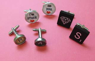 [Article Image] - Gift for Guys: Customized Cuff Links