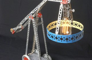 [Article Image] - How to Build a Lamp from an Erector Set